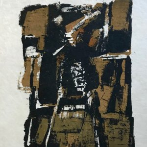 Orlando Pelayo 9, Original Lithograph, Mourlot 1962