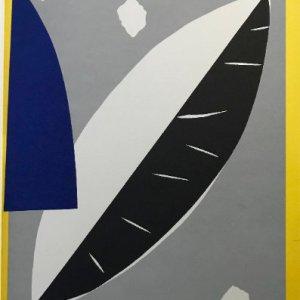 Aki Kuroda, Original Lithograph N5-1, 1988