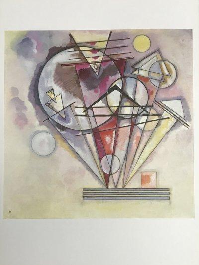 Wassily Kandinsky, Sur des Pointes, Derriere le Miroir