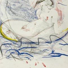 Francois Martin  Lithograph N5-1, Noise 1988,  Mid-century modern