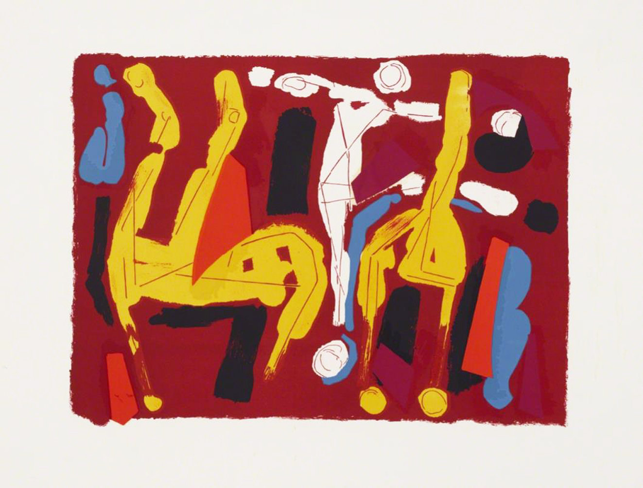 Marino Marini Chevaux et Cavalier V, Lithograph Signed & numbered 1974