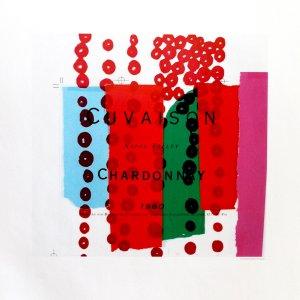 Andy Warhol print Chardonnay 4, 1999 Pop Art