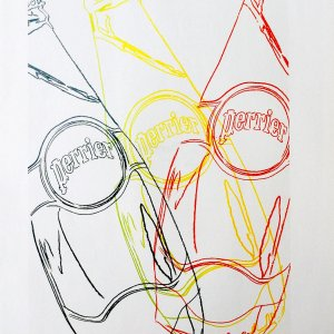 Andy Warhol  print  Perrier 4,  1999    Pop Art , Contemporary