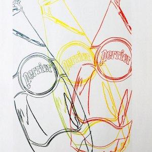 Andy Warhol print Perrier 4, 1999, Pop Art