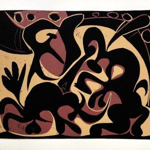 Pablo Picasso Linogravures Pique, 1962