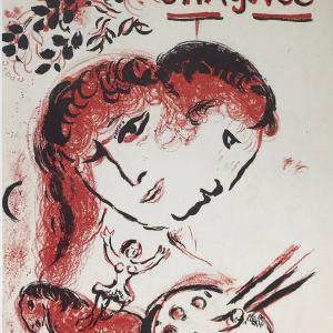 Marc Chagall, Original Lithographs vol 3 cover, Mourlot 1969