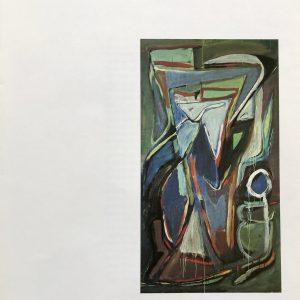 Bram Van Velde DM08240, Derriere le Miroir 1980