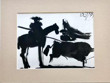 Picasso Toreros No 8, Cape work 1961
