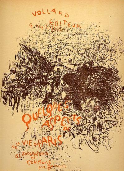 Pierre Bonnard, Lithograph 107, Couverture, Mourlot 1952
