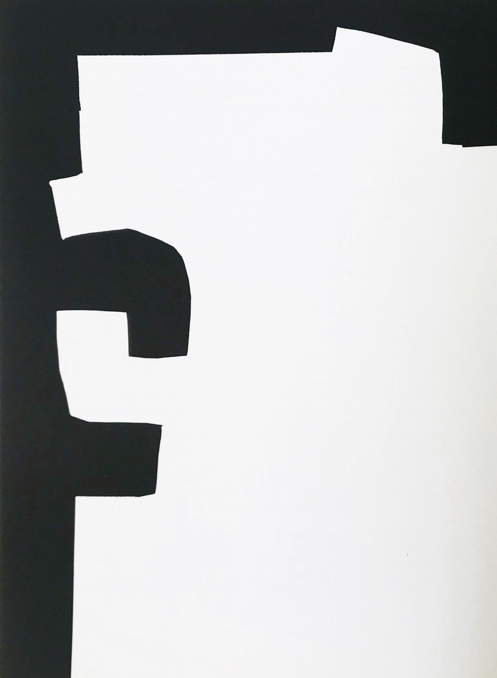 Eduardo Chillida, Original Lithograph, DM02204L, Derriere le miroir 1973