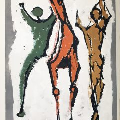 Marino Marini 3, Composition Two Acrobats with Horse