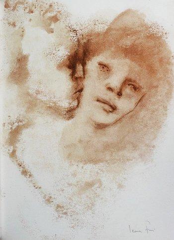 Leonor Fini, Pencil Signed Original Lithograph, Le Tresor Inconnu 1968