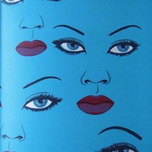 Félix Labisse, Pencil Signed Original Lithograph, Avec qui 1972