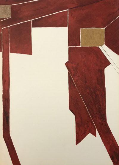 Pablo Palazuelo, Original Lithograph, DM00473, Derriere le Miroir 1955