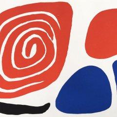 Alexander Calder Original Lithograph, AB1d,  1972,   Contemporary