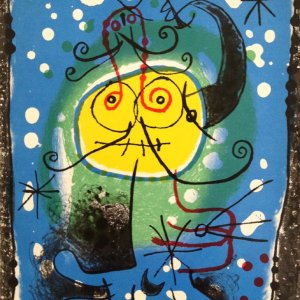 Joan Miro, Original Lithograph, Variation 2, XX siecle 1973