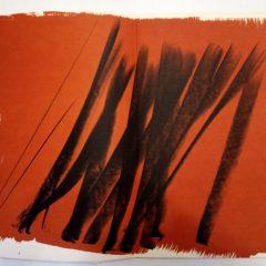 Hans Hartung Lithograph Farandole 1, Signed & numbered 1971