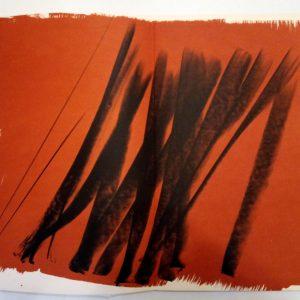 Hans Hartung, Pencil Signed & numbered Original Lithograph 11, Farandole 1971
