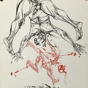 Vladimir Velickovic, Original lithograph, Ediciones Poligrafa 1979