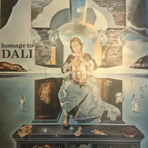 Book Homage to Dali 1980, includes 1 Lithograph