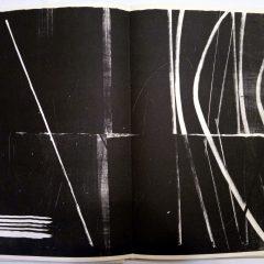Hans Hartung Lithograph Farandole 7, Signed & numbered 1971