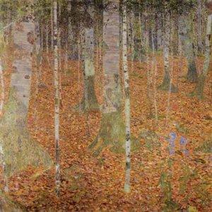 Klimt, Birch Wood, Limited Edition Giclee