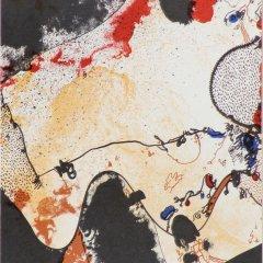 Josep Guinovart  Original lithograph Ediciones  Poligrafa 1979, Abstract  Expressionism