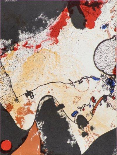 Josep Guinovart, Original lithograph, Ediciones Poligrafa 1979