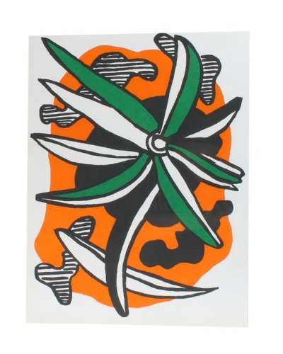 Fernand Leger Original lithograph 1971, Revue XX Siecle