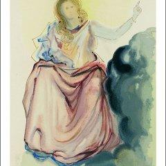 Salvador Dali, Paradise 4 Divine Comedy, Original Woodcut
