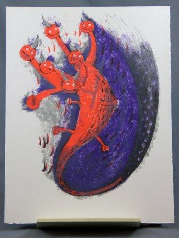 Tamayo Lithograph 12, Apocalypse of Saint John