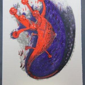 Rufino Tamayo, Original Lithograph 12, Apocalypse of Saint John