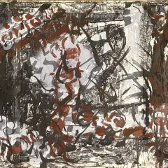 Jean-Paul Riopelle, Original Lithograph, DM05185T, DLM 1970