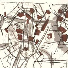 Jean-Paul Riopelle, Original Lithograph, DM03208d, DLM 1970