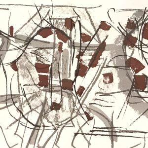 Riopelle, Original Lithograph, DM03208d, DLM 1970