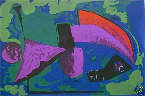 Marino Marini Original Lithograph, Guerrier, XX Siecle 1968
