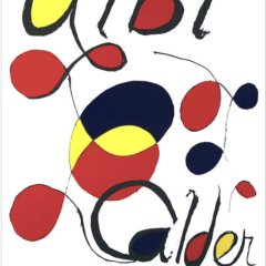 Alexander Calder, Poster Lithograph, Albi 1971