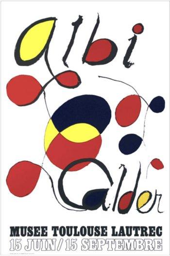 Calder, Poster Lithograph, Albi 1971