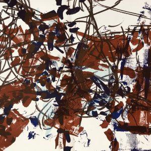 Riopelle, Original Lithograph, DM09171d, Derriere le Miroir 1968