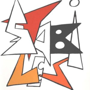 Calder, Original Lithograph, DM10141, Derriere le Miroir 1963