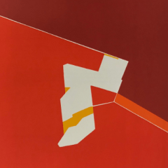 Pablo Palazuelo, Original Lithograph, DM05184, Derriere le Miroir 1970