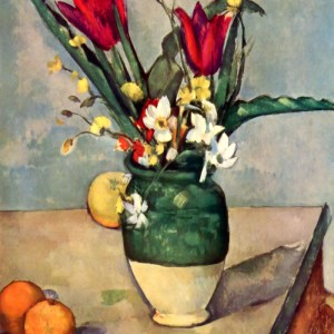 Cezanne, Flowers and Fruits, Limited Edition Giclee