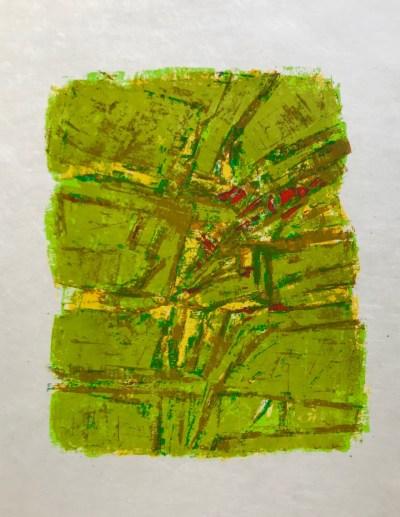 """Orlando Pelayo """"14"""" Original Lithograph 1962, Mourlot"""