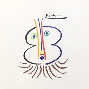 Pablo Picasso Lithograph 129, The Grat Noble