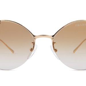 Prada Sunglasses SPR60U gold lenses