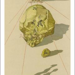 Salvador Dali, Hell 23, Woodcut, Divine Comedy