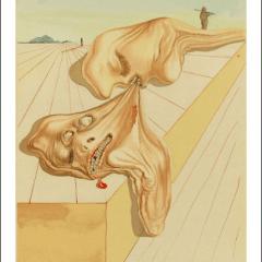 Salvador Dali, Hell 30, Woodcut, Divine Comedy