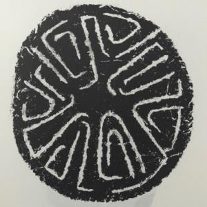Ubac Lithograph DM04207, Derriere le Miroir 1974