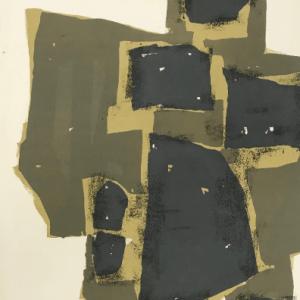 Ubac, Original Lithograph DM0474b, DLM 1955