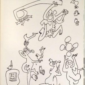 Roberto Matta Lithograph XX Siecle 1976